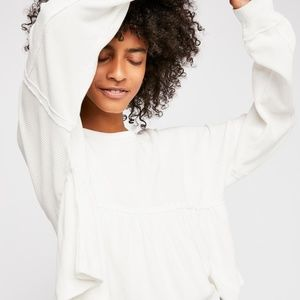 Free People Leilani Thermal white small